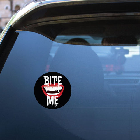 Bite Me Sticker Decal