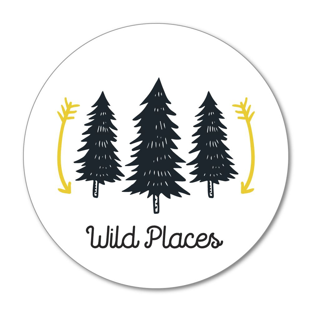 Wild Places Sticker Decal