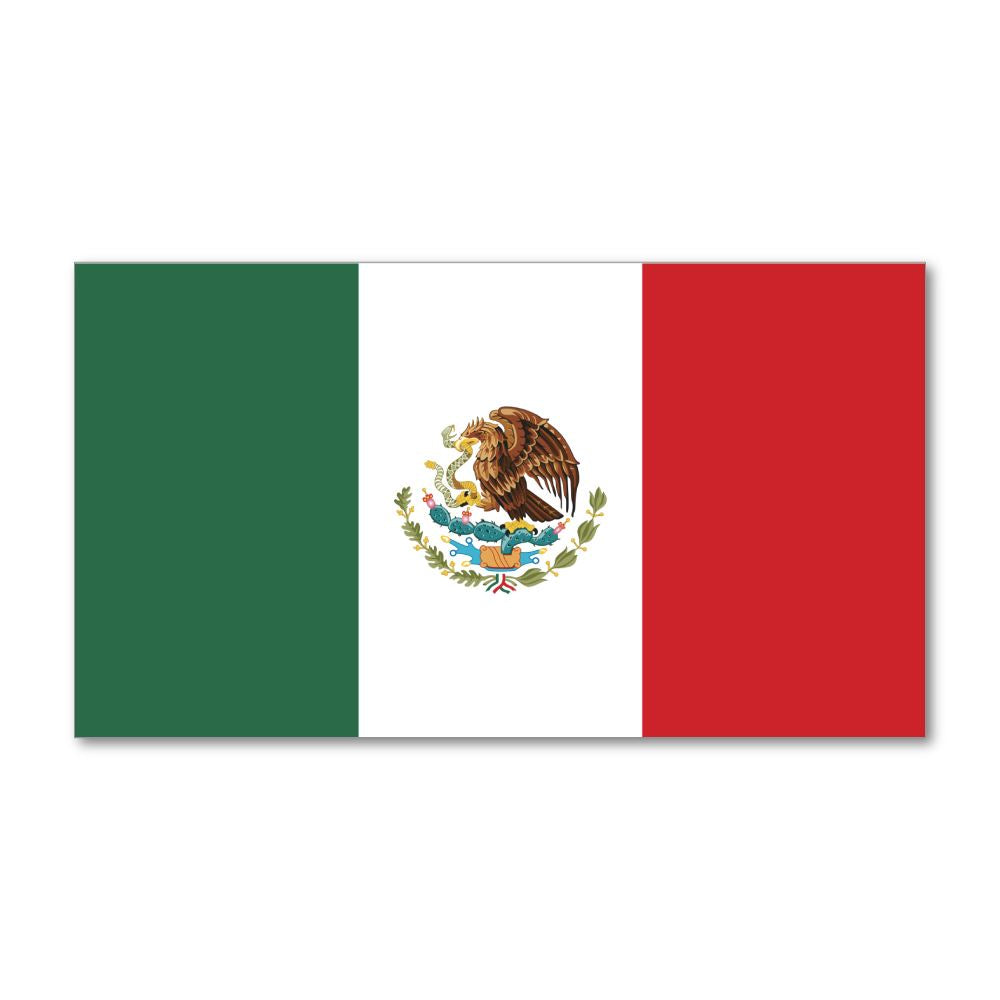 Mexican Flag Sticker Decal
