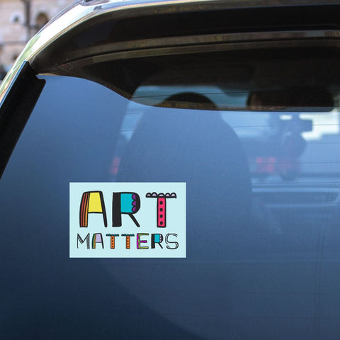 Art Matters Sticker Decal
