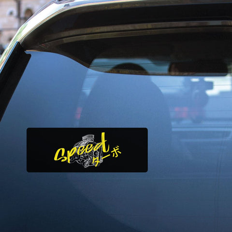Speed Jdm Racer Street Sticker Decal