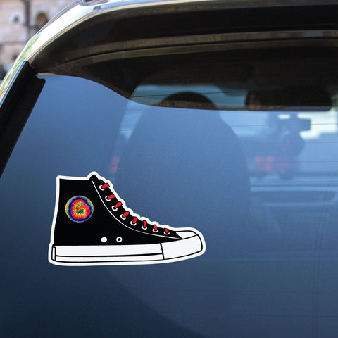 Hippie Shoes Sticker Decal