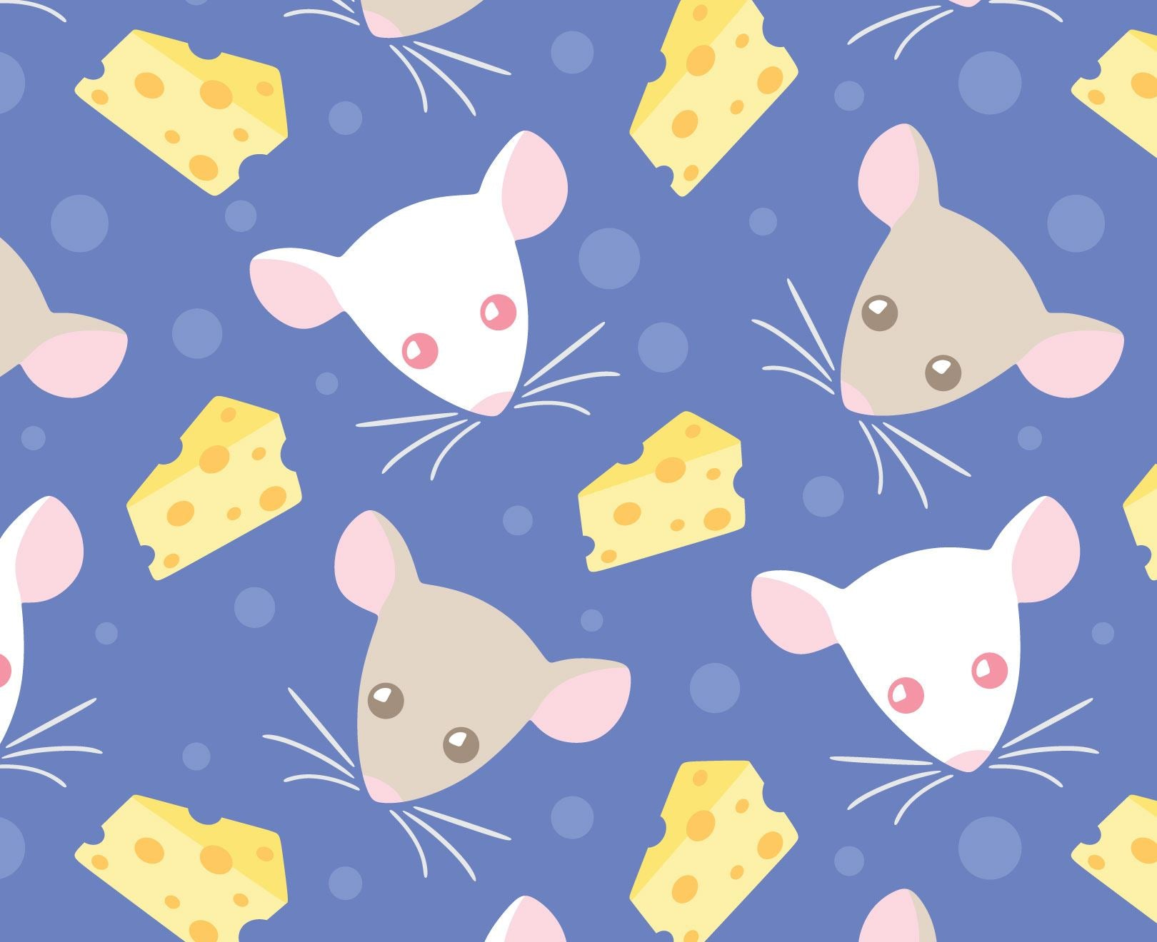 Rats And Cheese Wallpaper