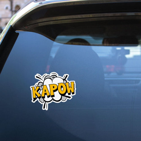 Kapow Sticker Decal
