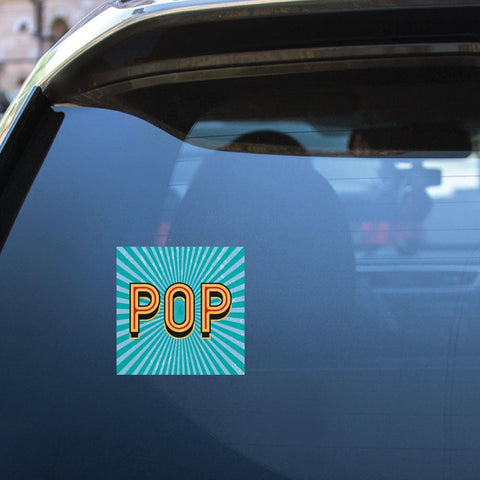 Pop  Sticker Decal