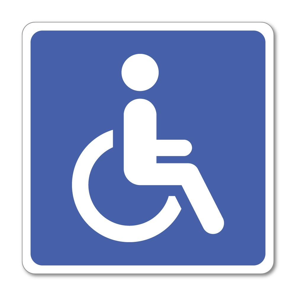 Disabled People Sticker Decal
