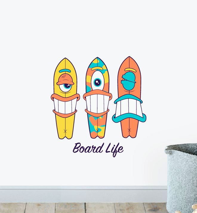The Board Life Wall Sticker Decal