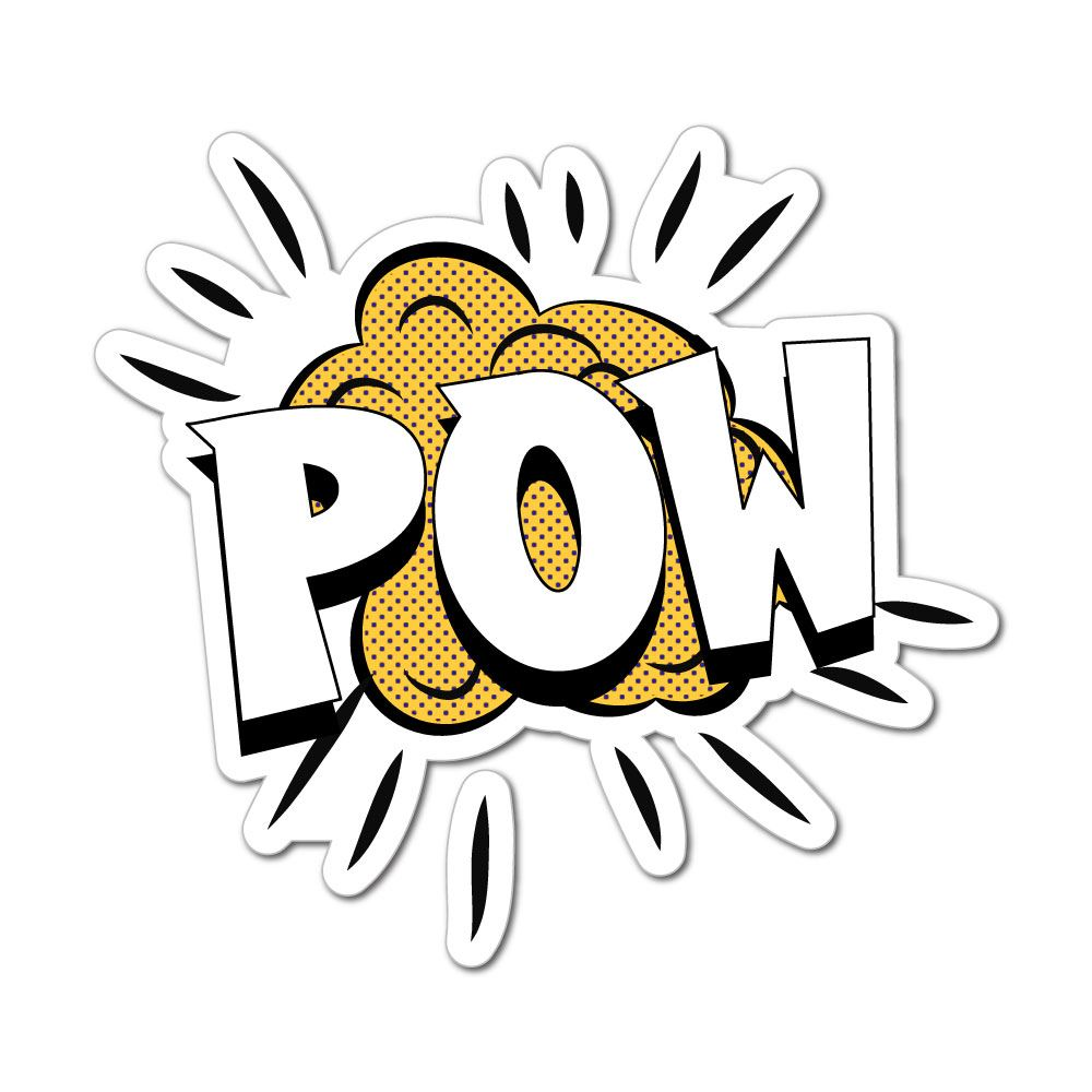 Pow Sticker Decal