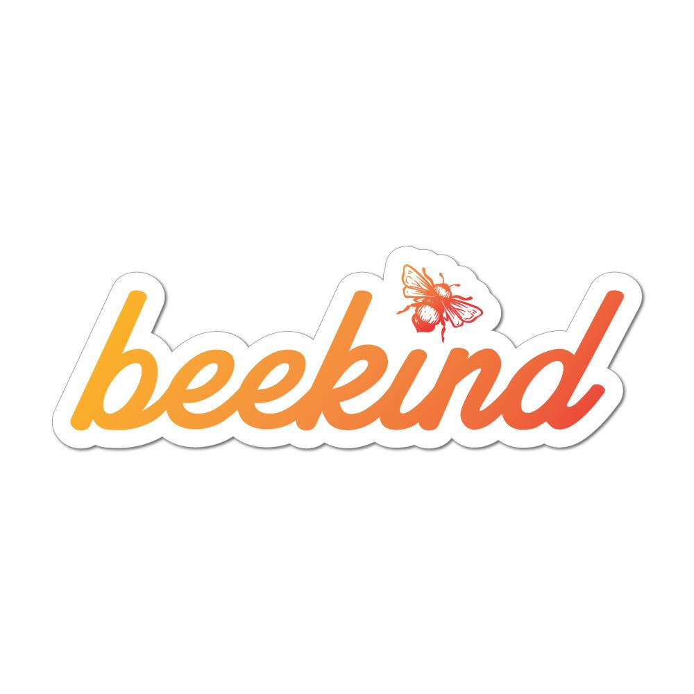 Bee Kind Car Sticker Decal