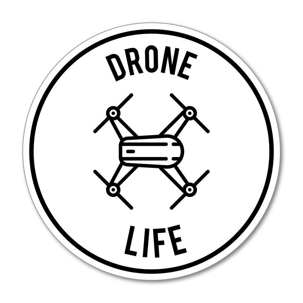 Drone Life Sticker Decal