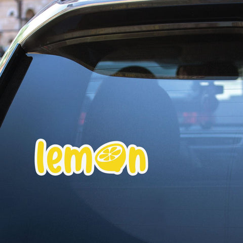 Lemon Sticker Decal