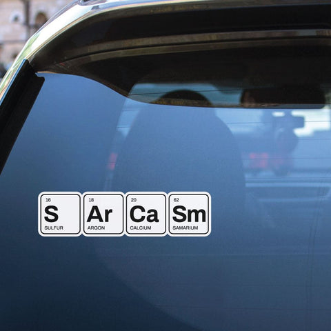 Sarcasm Sticker Decal