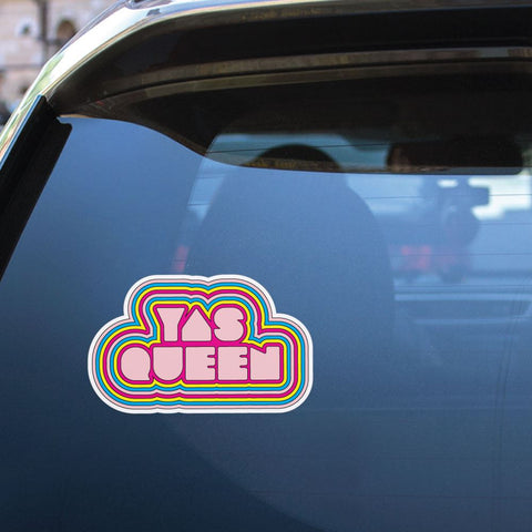 Yas Queen Sticker Decal