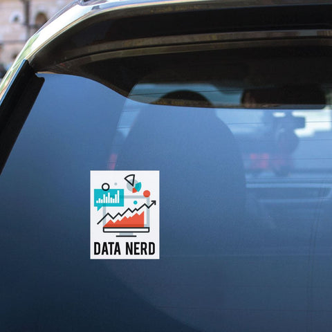 Data Nerd Sticker Decal