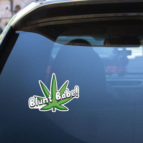 Blunt Babe Sticker Decal