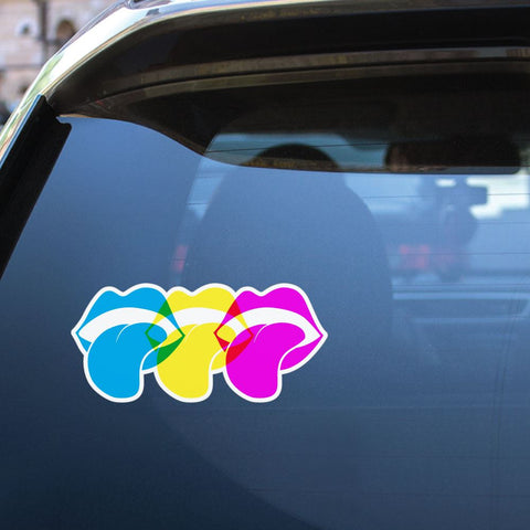Mouth Sticker Decal