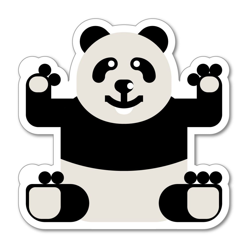 Panda sticker decal