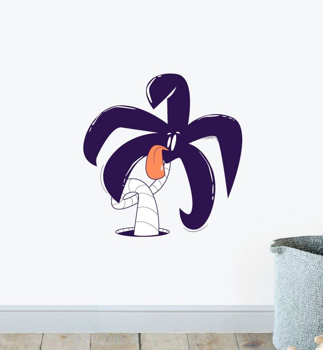 Sassy Palm Wall Sticker Decal
