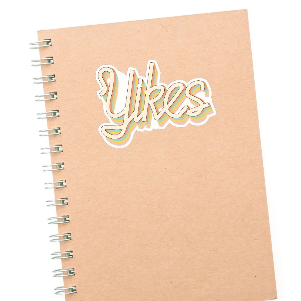 Yikes Sticker Decal