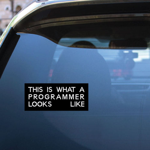 Programmer Sticker Decal