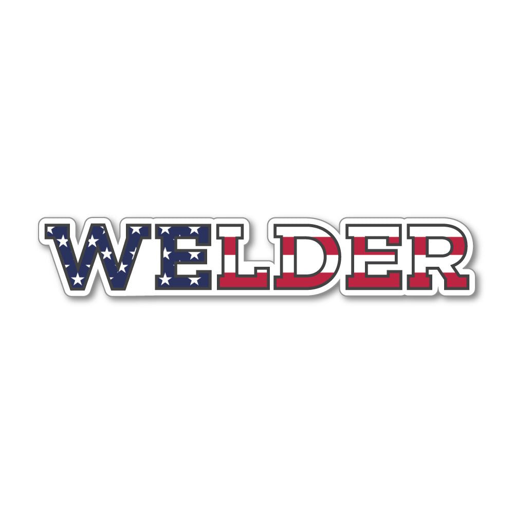 Welder Sticker Decal