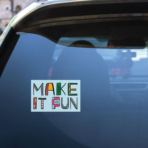 Be Fun Sticker Decal