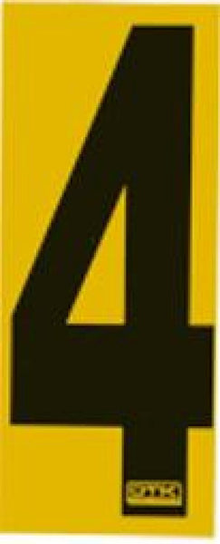 Race Number Sticker 4