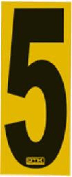 Race Number Sticker 5