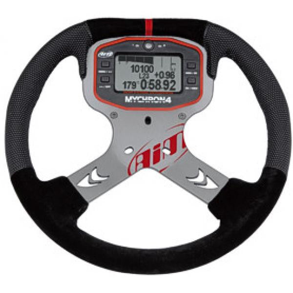 My-Chron 4 Steering Wheel - Black