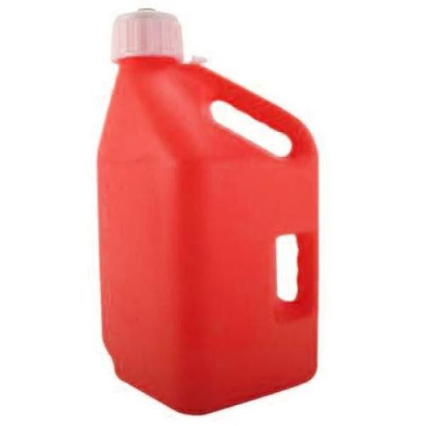 5 Gallon Square Utility Jug - Red