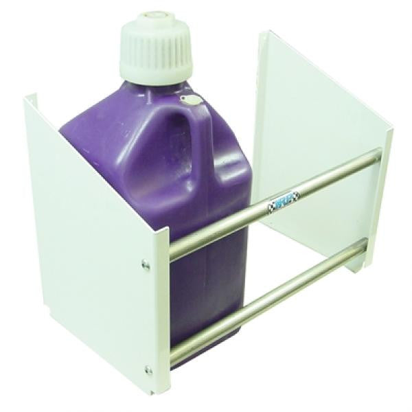 HRP Two Fuel Jug Rack - Powder Coated White