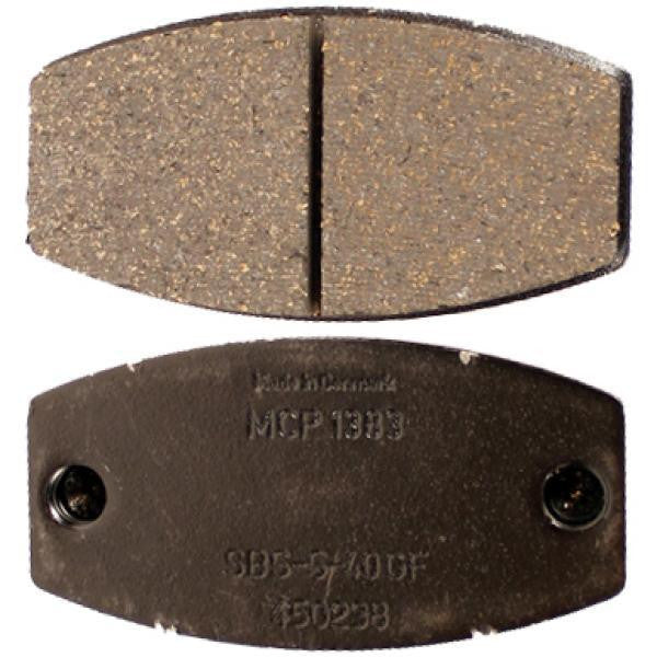 MCP Rear Caliper Brake Pad - Standard/Black