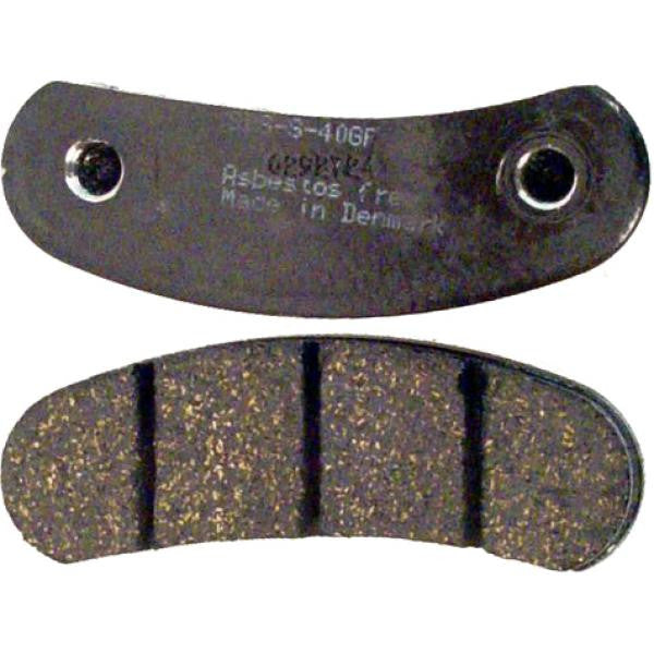 MCP/Enginetics Hard Brake Pad #EC750 FWB-Black