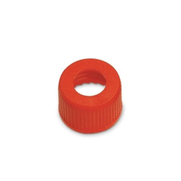 Hollow Suction Cap For Fuel Tank Pick-Up/Vent - Red