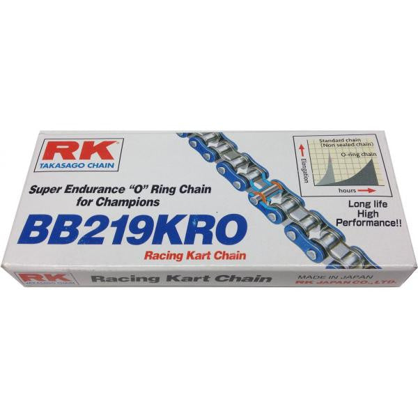 RK High Endurance 219 Blue O-Ring Chain - 108 Link