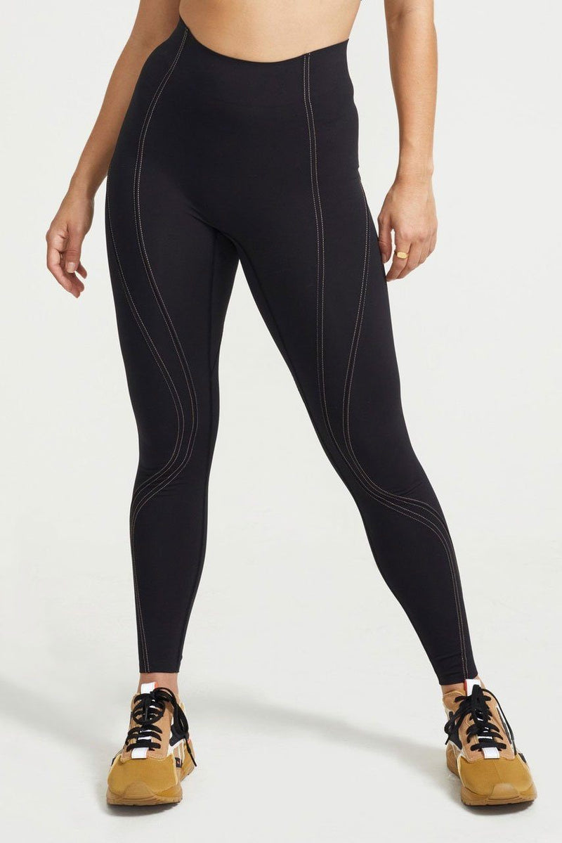 P.E NATION | Elevation Legging - Seamless Black