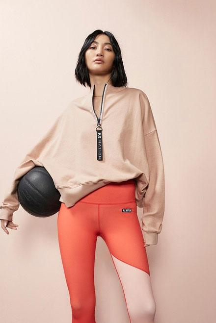 P.E NATION | Regain Sweatshirt - Rugby Tan