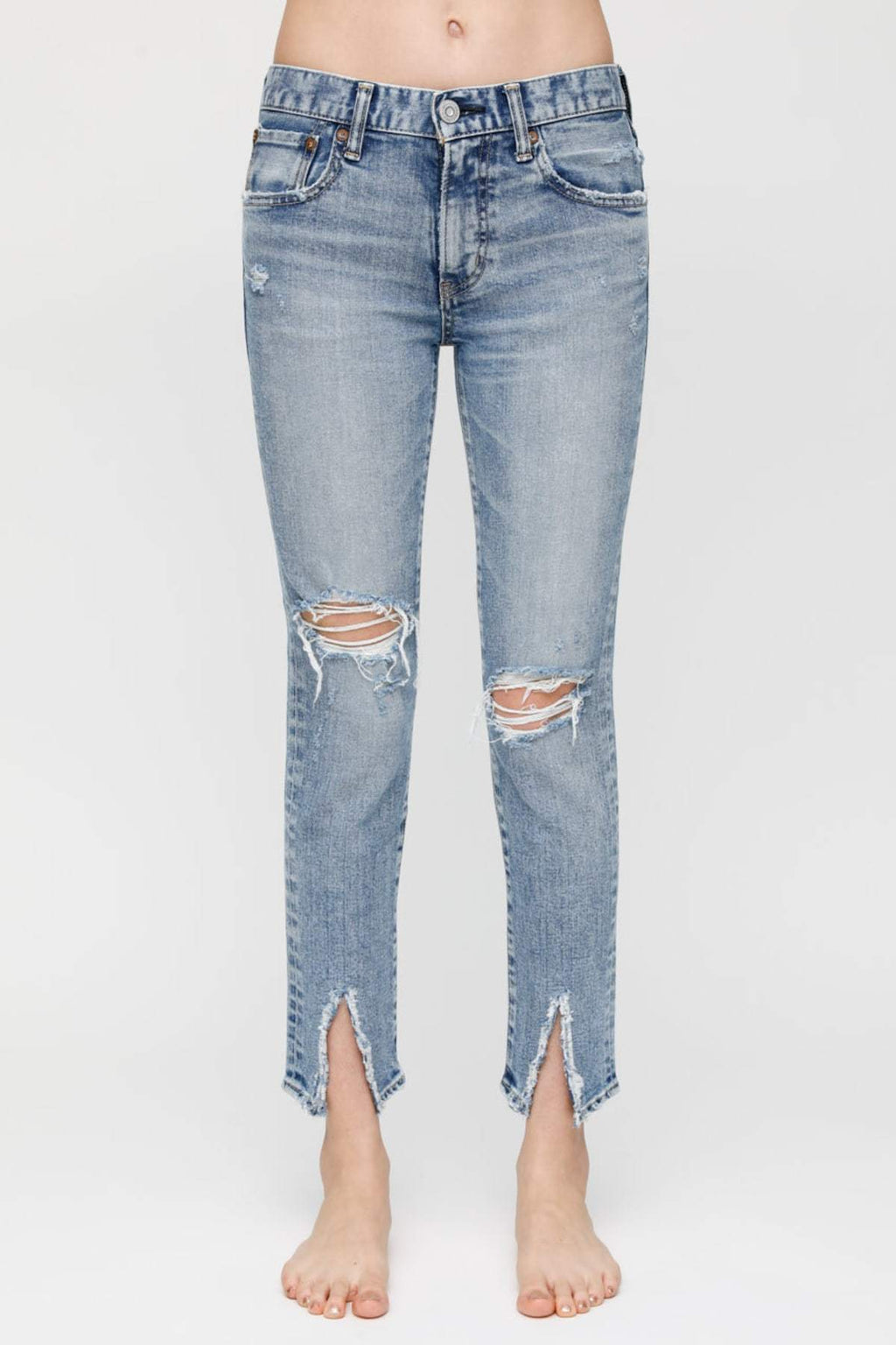 MOUSSY | Ithan Skinny - Light Blue