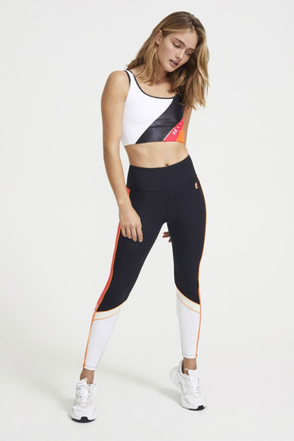 P.E NATION | Rebuild Legging - Black + Neon