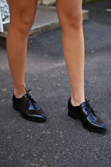 JEFFREY CAMPBELL | Beckham Oxford Loafer - Black