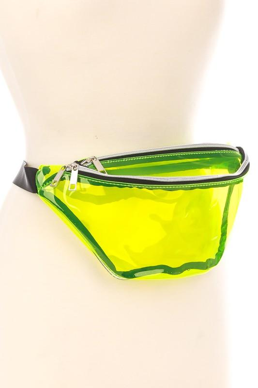 Rave City Fanny Pack - Neon Yellow or Neon Pink