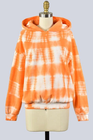 Hood Be Love Tie Dye - Orange