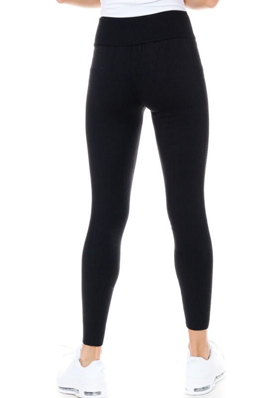 Live in these Leggings - Black