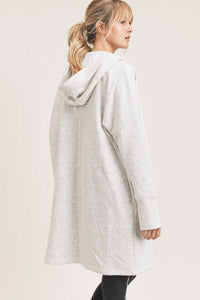 The Wait is Over-sized Cardigan - Oatmeal