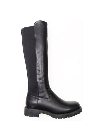 Aim High Chunky Boot - Black