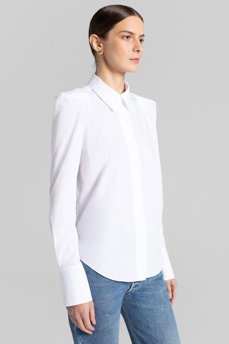 A.L.C | Carrera Top - White