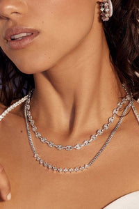 LUV AJ | Pave Mariner Chain Necklace