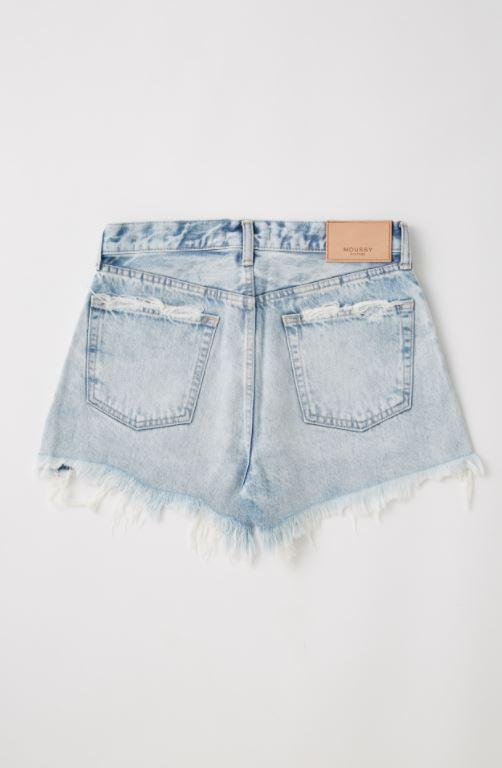 MOUSSY | MV Tribbey Shorts - Lt Acid Wash