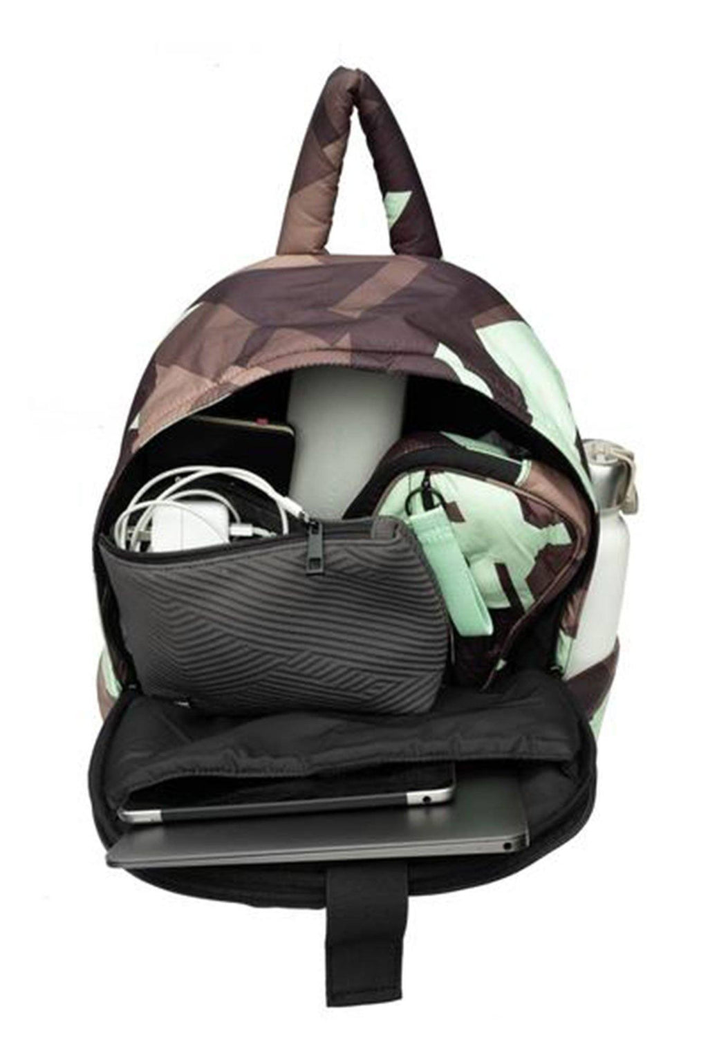 GO DASH DOT | Maya Backpack - Camo/Mint