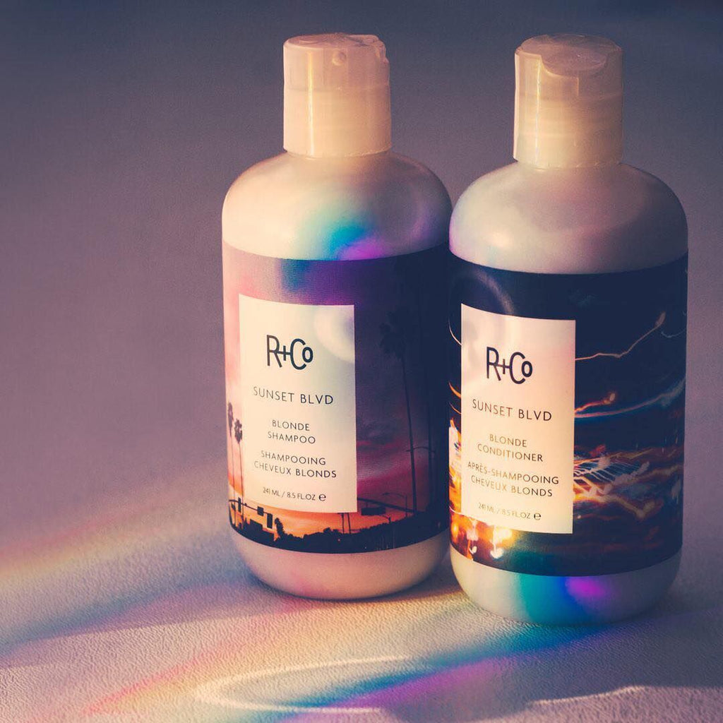 R+Co | Sunset Blvd Blonde Shampoo + Conditioner